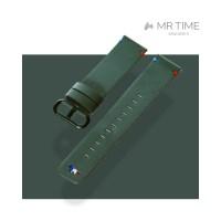 [MR TIME x Maison Kitsune] 메종키츠네 콜라보 시계줄 그린 20mm
