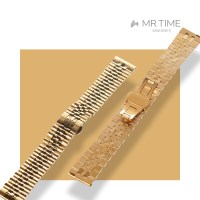 [MR TIME Metal] 스테인레스 스틸 메탈 골드 브러쉬드 골드