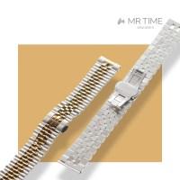 [MR TIME Metal] 스테인레스 스틸 메탈 골드 브러쉬드 실버