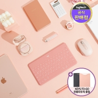 [파우치증정] 로지텍코리아 Keys-to-go 애플 호환 블루투스 키보드
