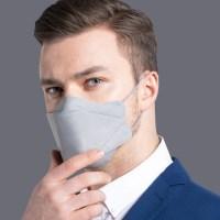 리릿 KF94 스타일 그레이 컬러 마스크 대형 20매