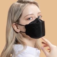 리릿 KF94 스타일 블랙 컬러 마스크 대형 20매