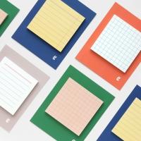 Square sticky pad (점착식 메모지)