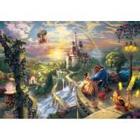 1000피스 직소퍼즐 - 미녀와 야수 사랑에 빠지는 순간