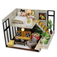DIY 미니어처 하우스 (난이도 중) -M031_가드닝 2층집