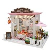 DIY 미니어처 하우스 (난이도 중.상) -C007_초콜릿디저트