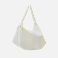 [21SS] FENNEC FABRIC HOBO BAG - WHITE