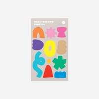 [코야키즈] 꾸밈스티커 - Shape 01
