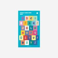 [코야키즈] 꾸밈스티커 - ABC