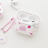 AIRPODS PRO CLEAR CASE - STRAWBERRY JUICE