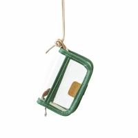 PVC WALLET - green