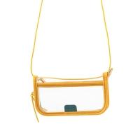 PVC POUCH - yellow