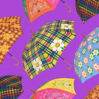 [위글위글] 우드 장우산