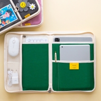 키보드&마우스수납] 캔버스 태블릿 아이패드 파우치