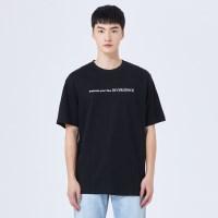 수피마 심플레터 반팔 티셔츠 SPRWA23C03