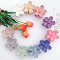 [1+1][10color] 블루밍 플라워 가든 꽃 집게핀 (무광 파스텔 색감)