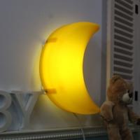 [LAMPDA]LED형 달모양 벽등