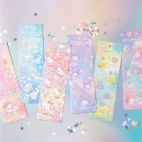 [Sanrio] 반짝반짝 금박스티커