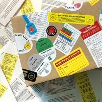 Lazy Caution Label Pack