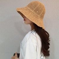 지사 뜨개 챙넓은 데일리 패션 버킷햇 벙거지 모자