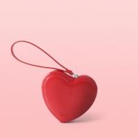 [mallet] Heart multi pouch