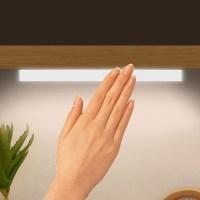 밝기조절 마그네틱 원터치 충전식 무선 LED 센서등
