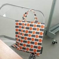 [BFMA P.STUDIO] 오렌지 패턴 스몰 토트백