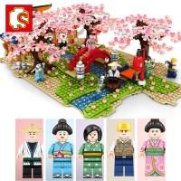 레고호환 셈보블럭 벚꽃거리 초등 여아레고 생일선물 601147
