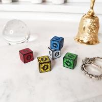 인테리어 소품 게임용 키덜트 컬러 다이스 주사위 소장용 장식품