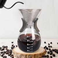 시노글라스 설렉트 커피 스텐 필터 핸드드립 세트 드리퍼 서버 홈카