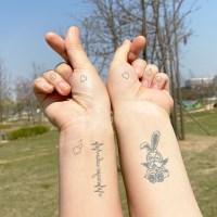 [집다다]19종 세트 셀프 헤나 타투 문신스티커