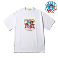 [MNBTH x Where is Wally?] Crew T-shirt(WHITE)