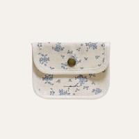 Flower mini wallet