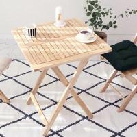 원목 접이식 카페 테이블 basic 2color
