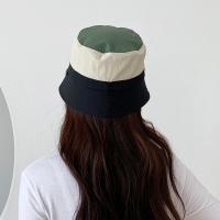 방수 캠핑 벙거지 모자 남녀공용 유니크 면 배색 여름_(472305)