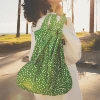 [21SS] notabag original green sprinkle