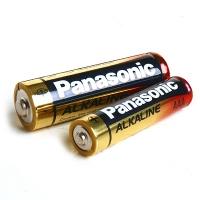 파나소닉 AAA 알카라인 건전지 1.5V (LR03) -2알 / Panasonic AAA