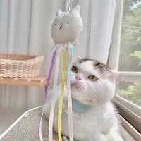개달당 개냥이 낚시대 장난감 리필 고양이장난감 카샤카샤