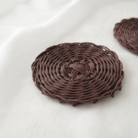 종이실로 만드는 컵받침 & 미니 케이스 - 페이퍼 라탄 diy키트