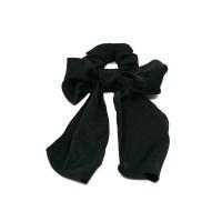 long ribbon chouchou (black)