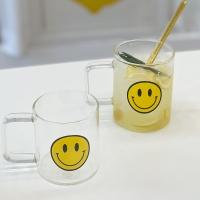 홈카페 집들이 선물 스마일 내열유리 하이볼 물컵 머그컵 머그잔
