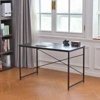 솔리드 1인용 철제 책상 테이블 1200 블랙/화이트
