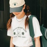 수바코 그린스카웃 티셔츠