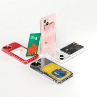 하이브리드 에어백 카드포켓 젤리케이스 1+1+1 아이폰13미니프로맥스