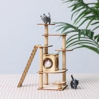 [리얼브릭] DIY 미니어처 만들기 - 코코의 캣타워