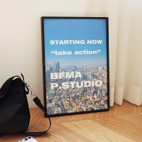 BFMA A3 포스터 - 테이크액션