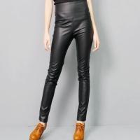 leather slimfit slacks:�������ͽ�Ű��