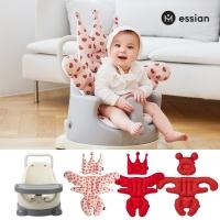 에시앙 아기의자 P-Edition+레드 2종(베개+라이너) 유아 이유식의자