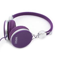 [WeSC](B1)BANJO PREMIUM HEADPHONE PURPLE PASSION