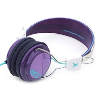 [WeSC](B1)BONGO PREMIUM HEADPHONE PURPLE PASSION